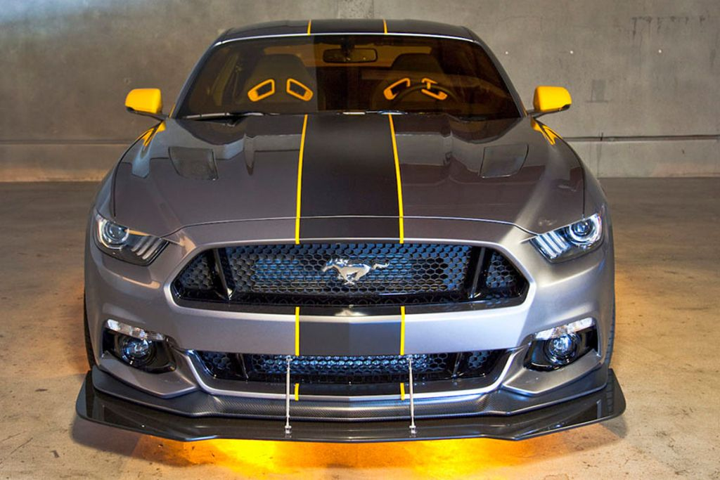 Ford F 35 Lightning II Edition Mustang 1 Ford F 35 Lightning II Edition Mustang vom Tuner MAD Industries