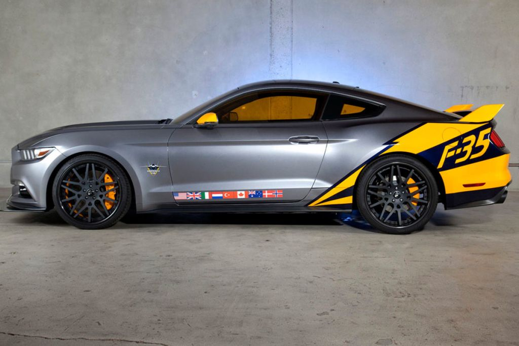 Ford F 35 Lightning II Edition Mustang 2 Ford F 35 Lightning II Edition Mustang vom Tuner MAD Industries