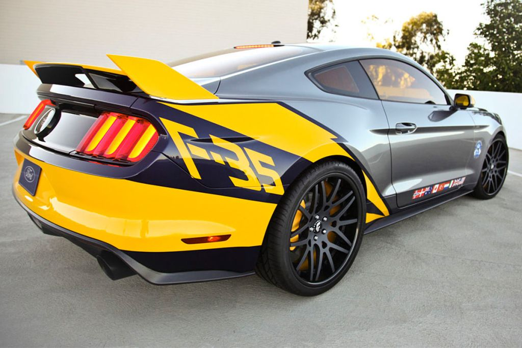 Ford F 35 Lightning II Edition Mustang 3 Ford F 35 Lightning II Edition Mustang vom Tuner MAD Industries