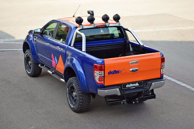 ford ranger auf gro em fu tuning von delta 4x4. Black Bedroom Furniture Sets. Home Design Ideas