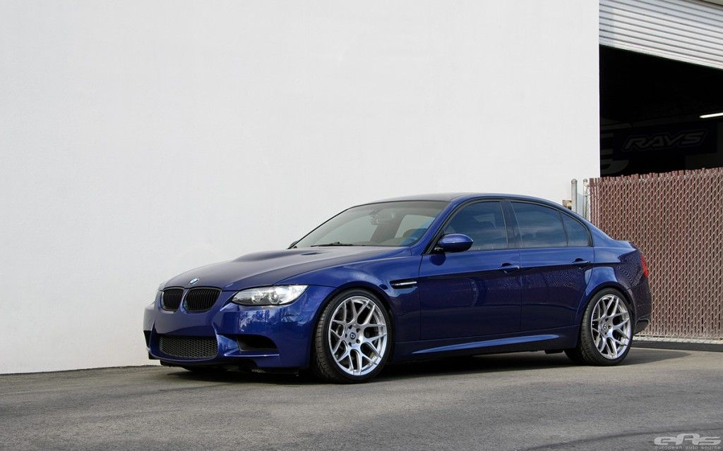 Interlagos Blue E90 M3 1 Dezenter BMW E90 M3 vom Tuner European Auto Source