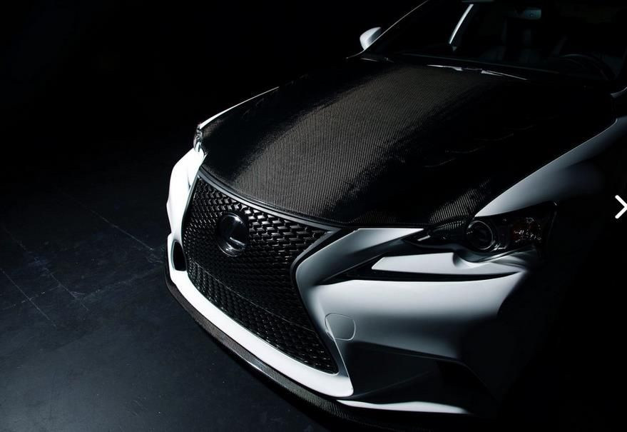 Lexus IS 350 F Sport Seibon Carbon 4 Viel Leichtbau am LEXUS IS 350 F SPORT vom Tuner Seibon Carbon