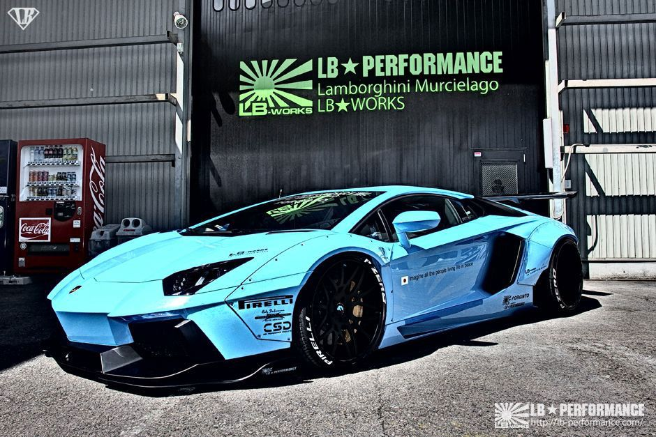 Liberty Performance aventador 1 LIBERTY WALK Performance Tuning am LAMBORGHINI AVENTADOR