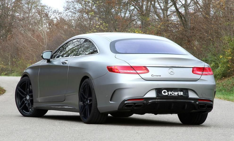MERCEDES S 63 AMG COUPÉ C217 Tuning G-Power 2