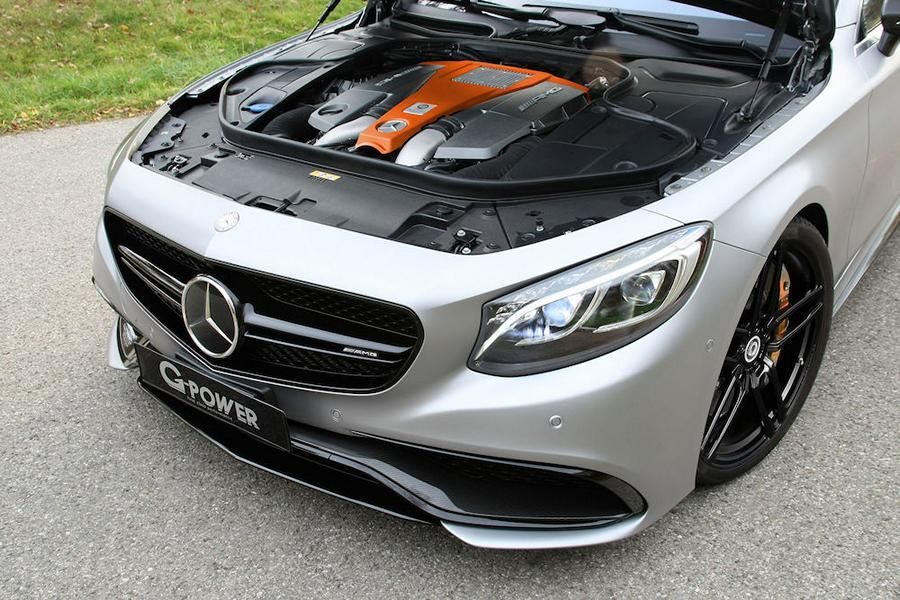 MERCEDES S 63 AMG COUPÉ C217 Tuning G-Power 3