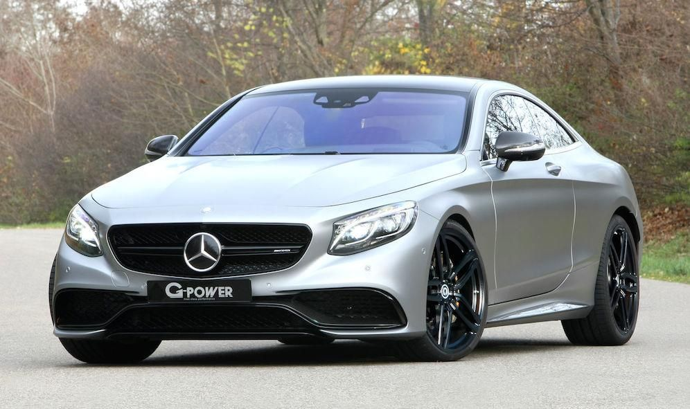 MERCEDES S 63 AMG COUPÉ C217 Tuning G-Power 4