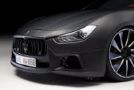 Maserati Ghibli Black Bison Wald International mattschwarz Tuning 15 190x127 Maserati Ghibli Black Bison vom Tuner Wald International