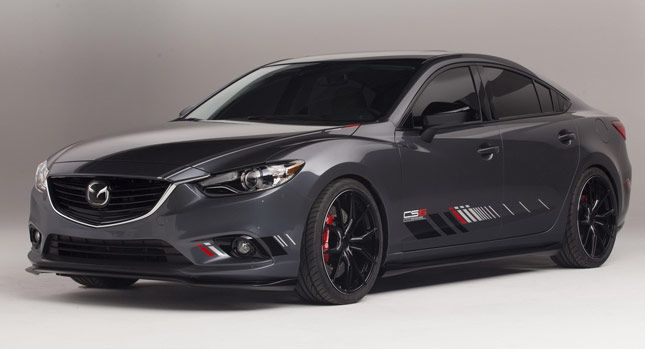 Mazda6 Clubsport MAZDA CLUB SPORT 6 CONCEPT. Diesel Power in Matt Grau