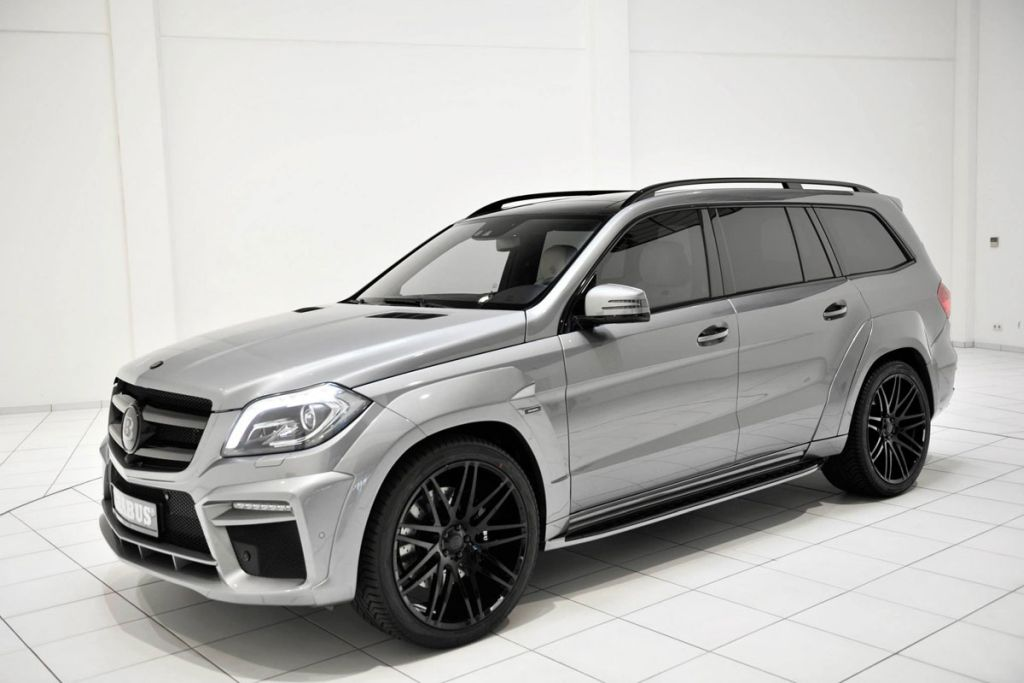 Wide body kit from brabus mercedes gl on 63 amg for Mercedes benz gls 63 amg