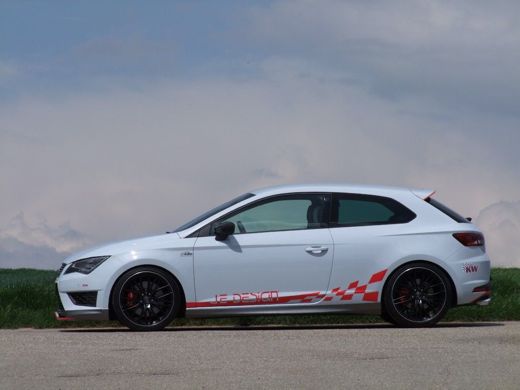 seat leon cupra dank je design mit 350 statt 280ps der tuning und styling blog. Black Bedroom Furniture Sets. Home Design Ideas