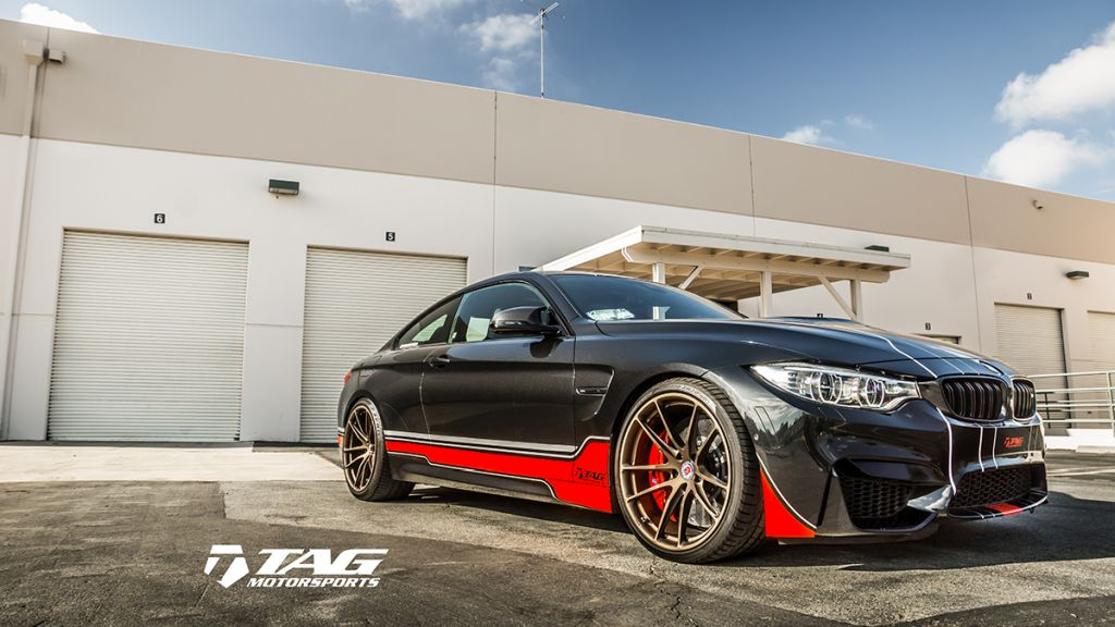 BMW M4 F82 Getunt Von TAG Motorsports