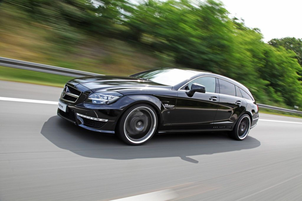 VAETHV63 ShootingBrake Tuning 1 Mercedes CLS Shooting Brake V63 mit 846PS von Väth