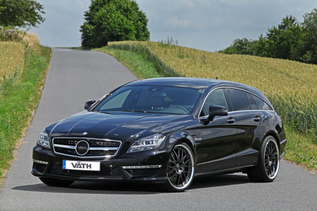 VAETHV63 ShootingBrake Tuning 3 Mercedes CLS Shooting Brake V63 mit 846PS von Väth