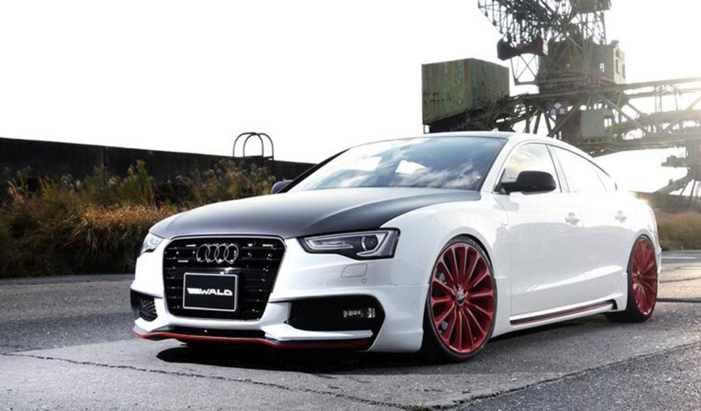 audi a5 sportback. tuning von wald internationale - tuningblog.eu