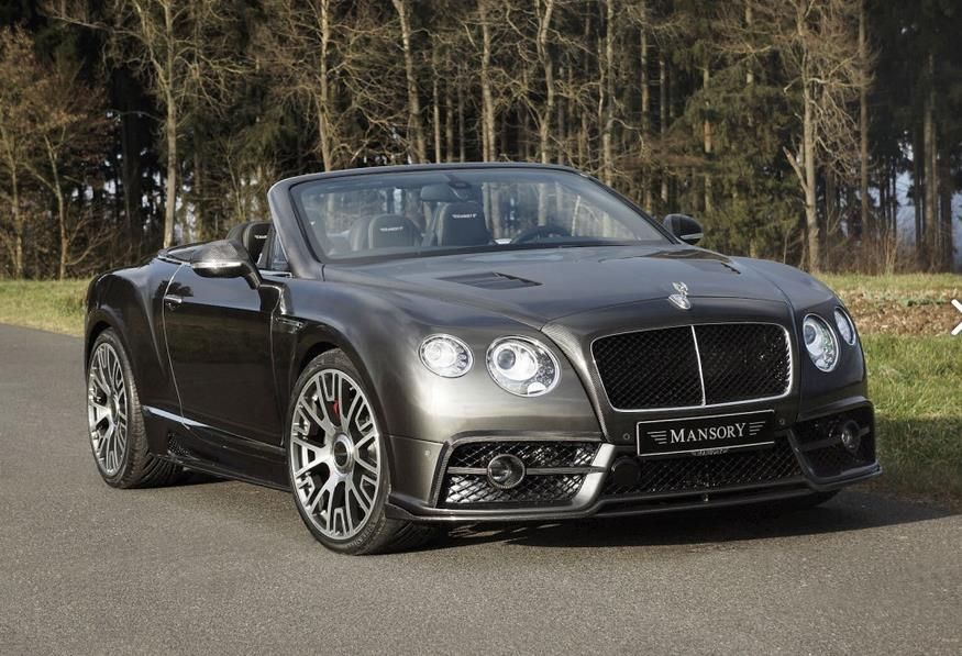 bentley continental gt mansory tuning 1 Bentley Continental GTC Edition 50 getunt von Mansory