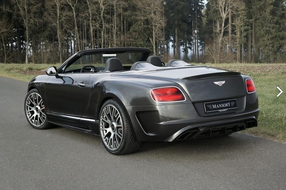 bentley continental gt mansory tuning 2 Bentley Continental GTC Edition 50 getunt von Mansory