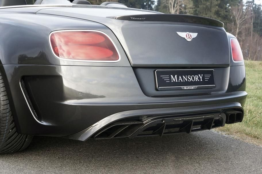 bentley continental gt mansory tuning 4 Bentley Continental GTC Edition 50 getunt von Mansory