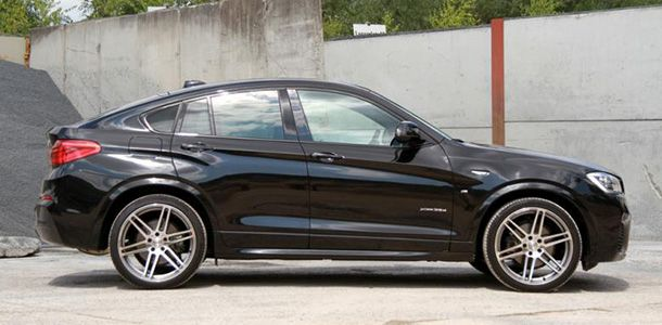 bmw x4 f26 xdrive 35d manhart top BMW X4 xDrive35d F26 mit Power von Manhart Performance