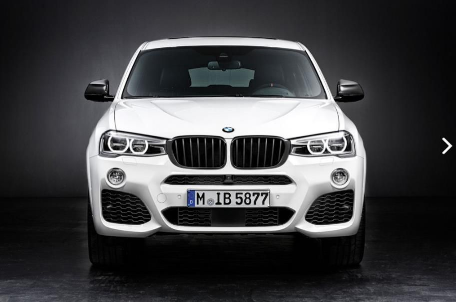 bmw x4 m performance parts 1 BMW X4 getunt von M Performance Parts