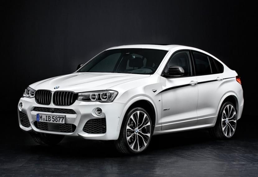 bmw x4 m performance parts 2 BMW X4 getunt von M Performance Parts