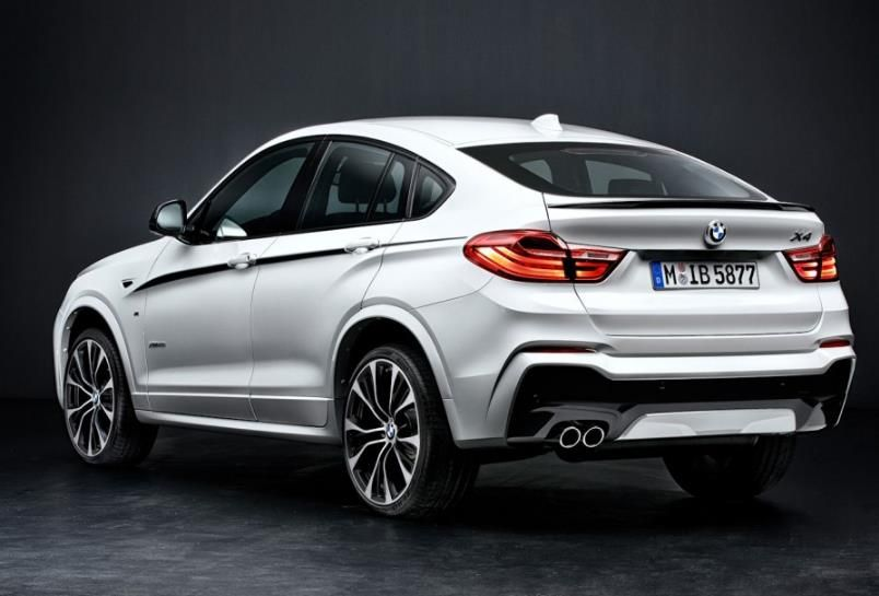 bmw x4 m performance parts 4 BMW X4 getunt von M Performance Parts
