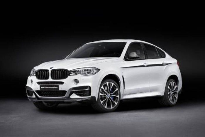 bmw x6 m performance parts 1 BMW M Performance Parts, Tuning am neuen BMW X6