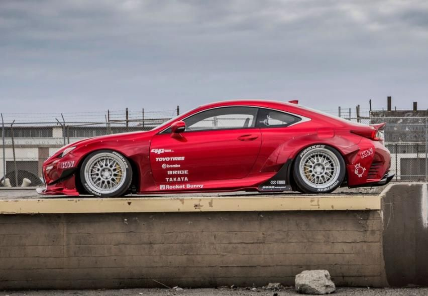 lexus rc 350 f sport by gordon ting 3 Brutale Optik und brutale Performance. Lexus RC 350 F Sport von Gordon Ting