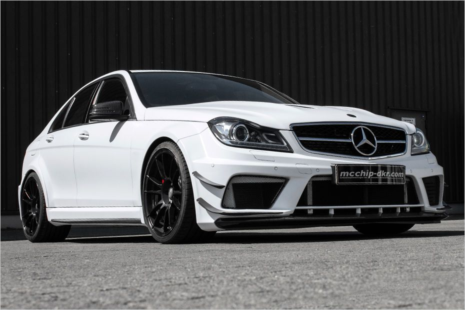 mcchip dkr amg 63 c 1 Everything works! Mcchip dkr with 830PS C class
