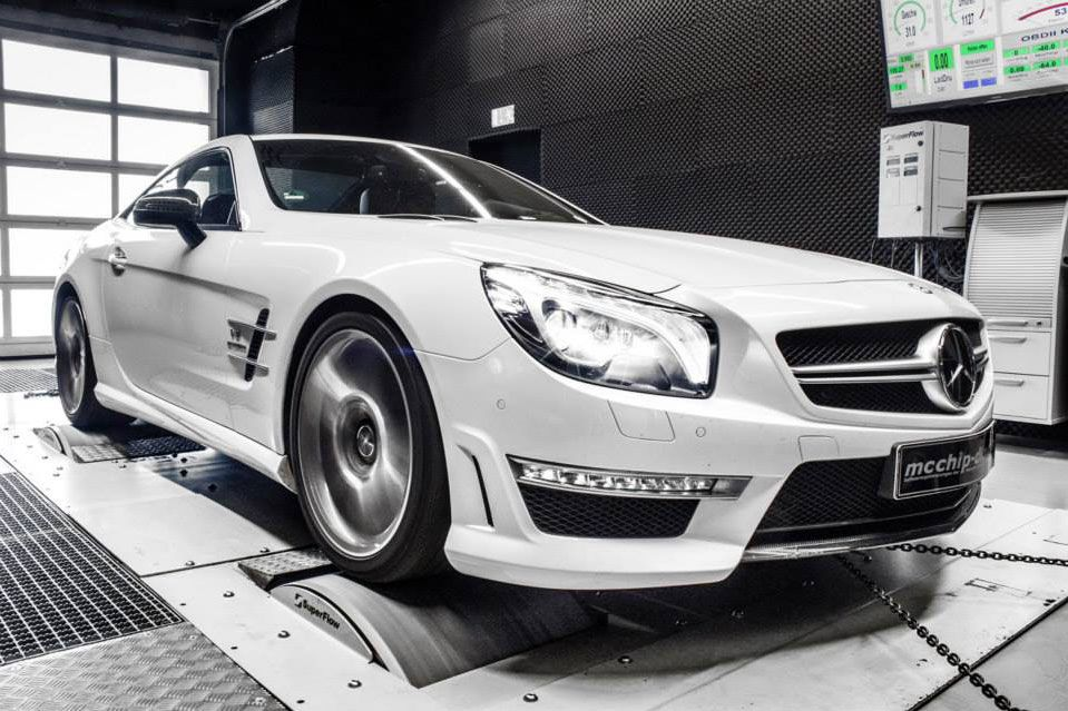 mercedes sl 63 amg mcchip dkr 1 Mcchip DKR with mega power in the Mercedes SL 63 AMG