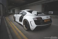 prior design audi r8 24k gold brixton wheels 12 190x127 Audi R8, unterwegs mit 24 Karat Gold Felgen von Brixton Wheels