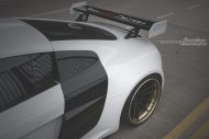 prior design audi r8 24k gold brixton wheels 13 190x127 Audi R8, unterwegs mit 24 Karat Gold Felgen von Brixton Wheels