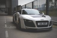 prior design audi r8 24k gold brixton wheels 2 190x127 Audi R8, unterwegs mit 24 Karat Gold Felgen von Brixton Wheels