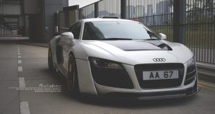 prior design audi r8 24k gold brixton wheels 2 310x165 Audi R8, unterwegs mit 24 Karat Gold Felgen von Brixton Wheels
