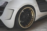 prior design audi r8 24k gold brixton wheels 4 190x127 Audi R8, unterwegs mit 24 Karat Gold Felgen von Brixton Wheels