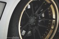 prior design audi r8 24k gold brixton wheels 5 190x127 Audi R8, unterwegs mit 24 Karat Gold Felgen von Brixton Wheels