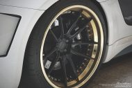 prior design audi r8 24k gold brixton wheels 6 190x127 Audi R8, unterwegs mit 24 Karat Gold Felgen von Brixton Wheels