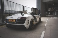 prior design audi r8 24k gold brixton wheels 7 190x127 Audi R8, unterwegs mit 24 Karat Gold Felgen von Brixton Wheels