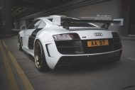 prior design audi r8 24k gold brixton wheels 9 190x127 Audi R8, unterwegs mit 24 Karat Gold Felgen von Brixton Wheels