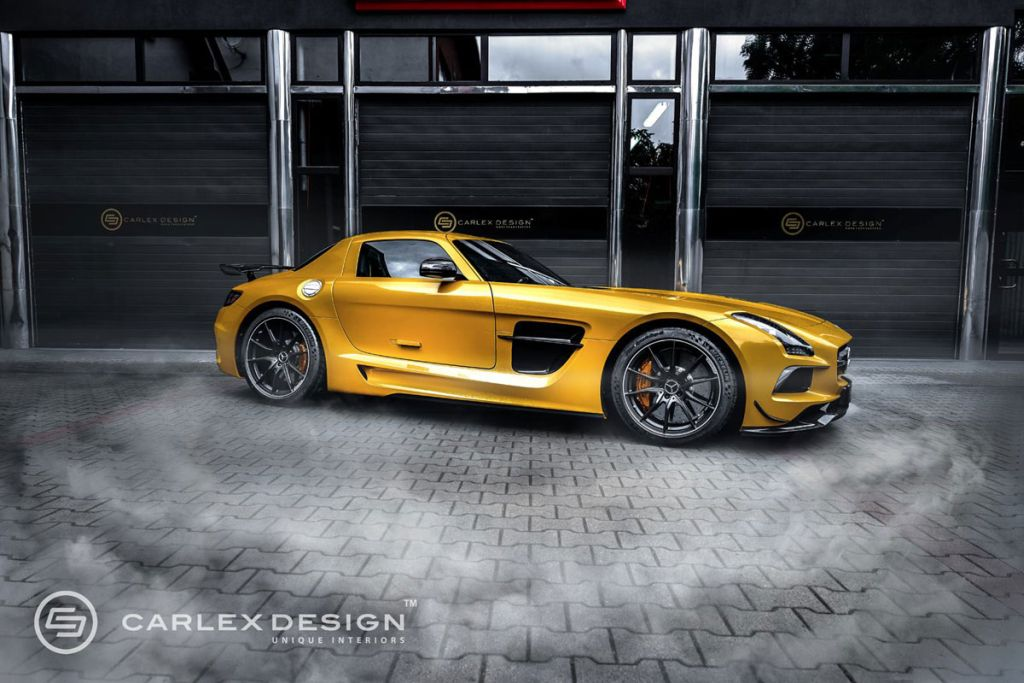 sls amg black series carlex 1 My Home is my Castle! Carlex Design macht den SLS AMG Black Series edler