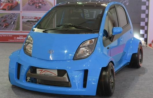 tata nano tuning 1 Tata Nano. Indischer Billig Smart mit Tuning Power