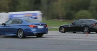 video supersportler ferrari ff g 310x165 Video: Supersportler Ferrari FF gegen BMW M5 F10