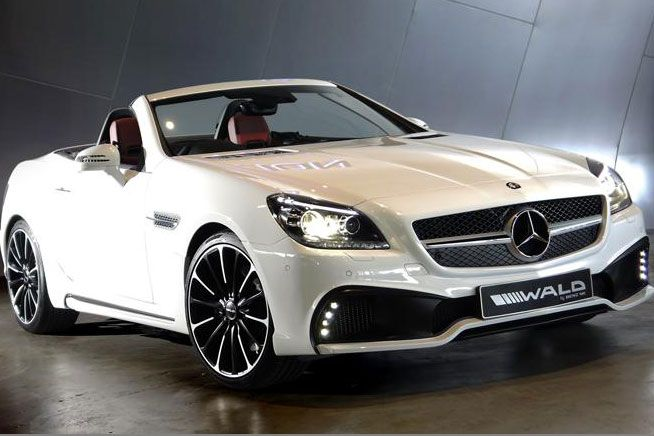 wald internationale mercedes slk 1 Wald Internationale tunt den Mercedes SLK mit einem Bodykit