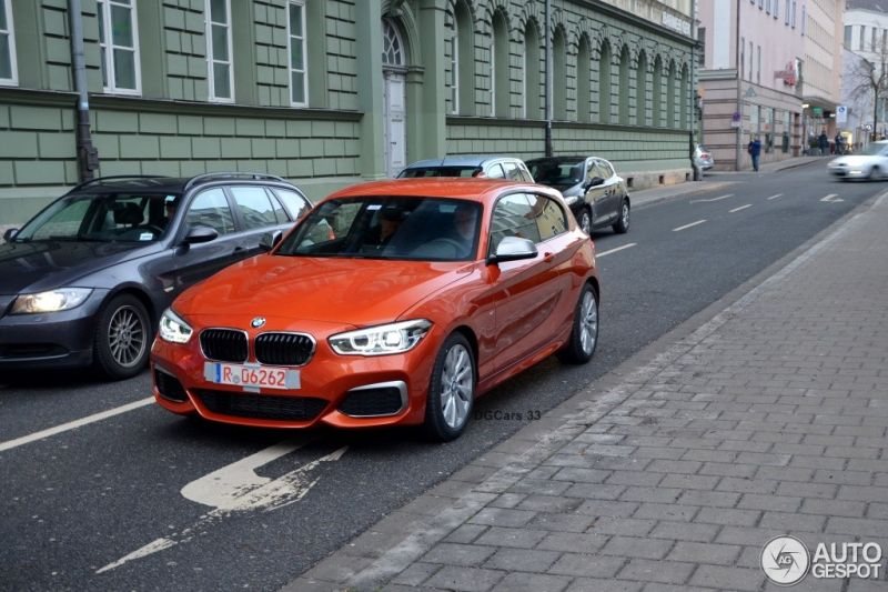 2015 BMW M135i Facelift F21 LCI 1 2015er BMW M135i als Facelift Version