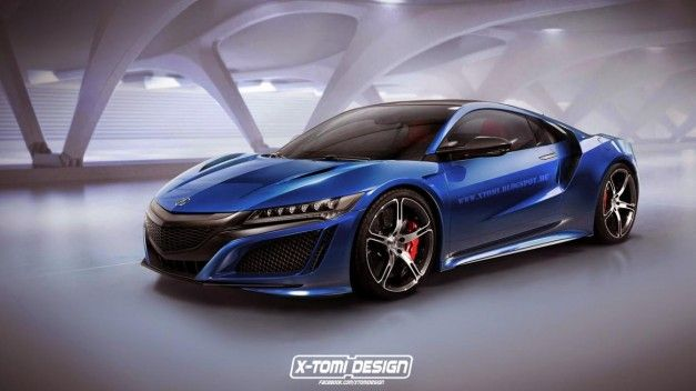 Acura NSX Type R Rendering X Tomi Designs 1 Acura NSX Type R vom Tuner X Tomi Design