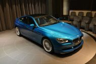 BMW Alpina B6 Gran Coupe 1 190x127 Innen Blau, außen Blau. Der BMW Alpina B6 Gran Coupe in Atlantis Blue