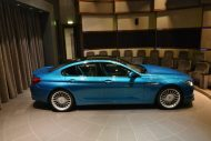 BMW Alpina B6 Gran Coupe 3 190x127 Innen Blau, außen Blau. Der BMW Alpina B6 Gran Coupe in Atlantis Blue