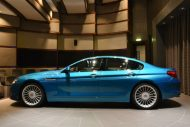 BMW Alpina B6 Gran Coupe 6 190x127 Innen Blau, außen Blau. Der BMW Alpina B6 Gran Coupe in Atlantis Blue