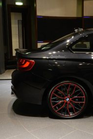 BMW M235i Tuning BMW M Performance Zubehoer 9 190x285 Rot schwarzer BMW M235i F22 mit BMW M Performance Parts