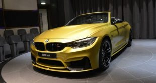 BMW M4 Cabrio Austin Yellow M Performance 4 310x165 Schickes Austin gelbes BMW M4 Cabrio mit BMW M Performance Parts