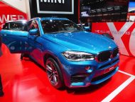 BMW X6 M F86 Long Beach Blue 11 190x143 575PS im Long Beach Blue BMW X6 M F86 der M GmbH